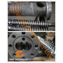 Conical Twin Screw and Barrel for PVC +WPC