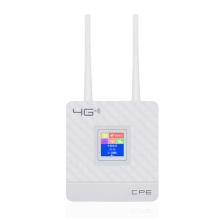 3G 4G Portable Hotspot Lte Wifi Router Wan/Lan Port Dual External Antennas Unlocked Wireless Cpe Router+ Sim Card Slot