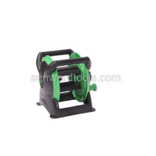 Plastic portable hose cart