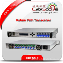 8 Way Headend Return Path Indoor Optical Receiver Transceiver