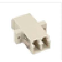 LC-LC Multimodo Adaptador duplex de fibra óptica, acoplador Adaptador de acoplamento Conector