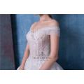 Alibaba atacado fora do ombro vestido de noiva vestido de noiva HA565