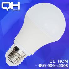 Nueva generación del modelo E27 Bombilla LED 9W con aleación de magnesio