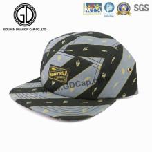2016 Haute Qualité Mode Gris Noir Droite Snapback Camper Cap