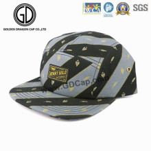 2016 High Quality Fashion Gray Black Straight Snapback Camper Cap