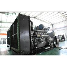 Generador diesel y de gas de doble combustible (800KW)
