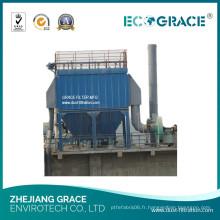 Collecteur de poussière de silo appliqué dans l'usine en bois, collecteur de poussière de Baghouse