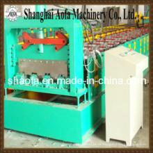 Rolo do assoalho da plataforma do aço da cor que forma a máquina (AF-D800)