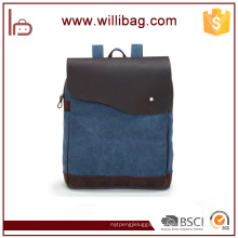 Factories Sale Genuine Leather Shoulder Bags For Man Canvas Messenger Bags