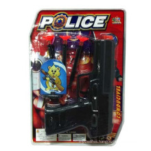Wholesale Plastic Police Toy Mini Gun for Boys (10202225)
