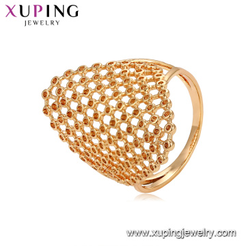 15314 xuping stylish women magnetic personalized shape finger ring in 18k plating import jewelry from china