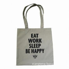 Cotton flannel clothes promotional shopping bag, clothes packing, advertising