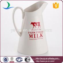 Экологичный белый керамический молочный пеномолочный молоток с отпечатками
