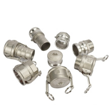 Pipe Camlock Fittings Stainless Steel Casting Quick Female Camlock Coupling