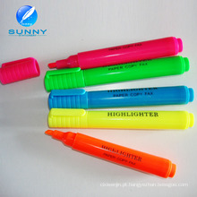 Barato por atacado Multi cor Highlighter marcador conjunto de canetas com tampa