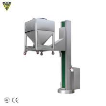 arm ibc bin lifter elevator machine for pharma bin
