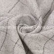 Tecido de poliéster Rayon moda para homens e mulheres casaco de inverno