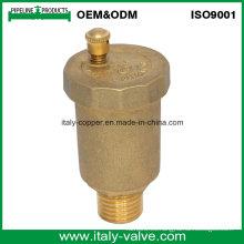 Mejor venta de latón de latón de ventilación automática válvula de bola de ventilación (IC-3009)