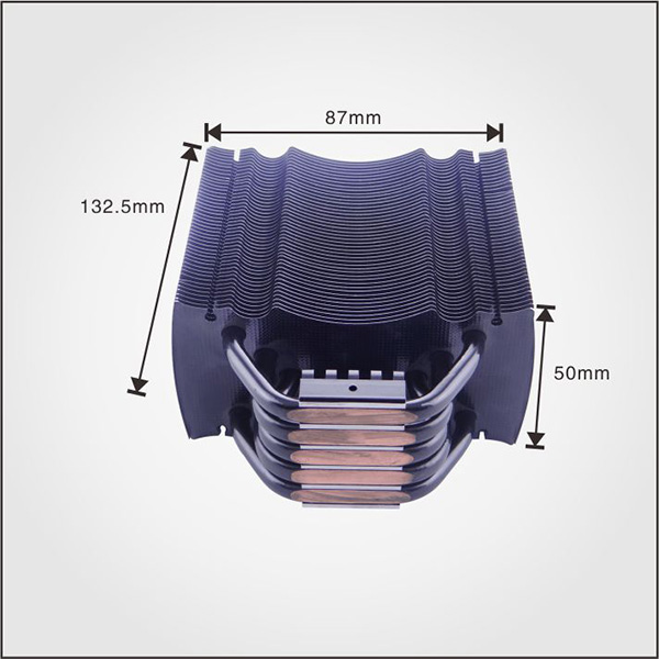 Ruiquan New Designed Aluminum Stack Fin With 4
