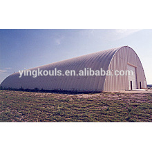 K Type Super Steel Arched Hangar Making Building Machine