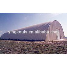 K Type Super Steel Arched Hangar Making Building Machine