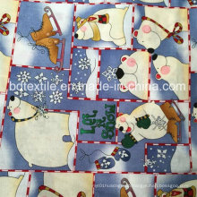 Competitive Price X′mas Holiday Decoration Fabric 100%Cotton