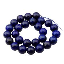 14MM Loose natural Gemstone Lapis Lazuli Round Beads for Making jewelry