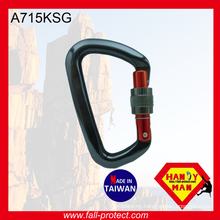 With CE Certificate 25KN Aluminum Climbing Carabiner For Wild Sports