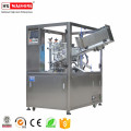 Fully automatic plastic laminated tube filling ultrasonic sealing machine for tubes packaging