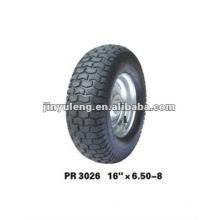rubber wheel 16x6.50-8