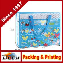Promoção embalagem de compras não tecidos saco (920055)