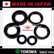 Selo de óleo Musashi com desempenho superior e adequado para vários usos. Feito no Japão (vedação de óleo da bomba hidráulica)