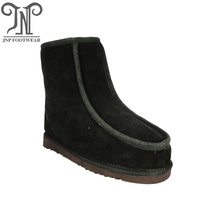 Good Quality for Mens Winter Slippers For Home Quality flat blow rubber leather boots for men supply to Benin Exporter