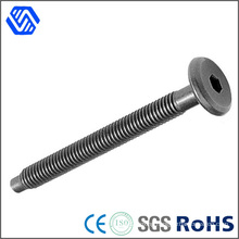 Custom High Strength Steel Hilti Bolt Black Hex Socket Round Head Bolt Screw