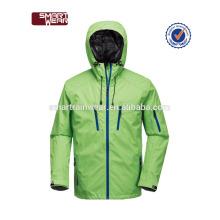 Hochwertige Outdoor-Sport-Blanko angepasst Druck Logo wasserdicht Polyester Jacke