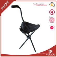 folding cane seat chair