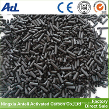 Bulk impregnated pellet activated carbon manufacturer