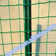 2015 Hot Sale High quality Public grounds Galvanized/PVC Euro fence