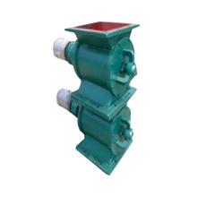 Válvula de descarga rotativa de actuador de válvula cuadrada para descarga.