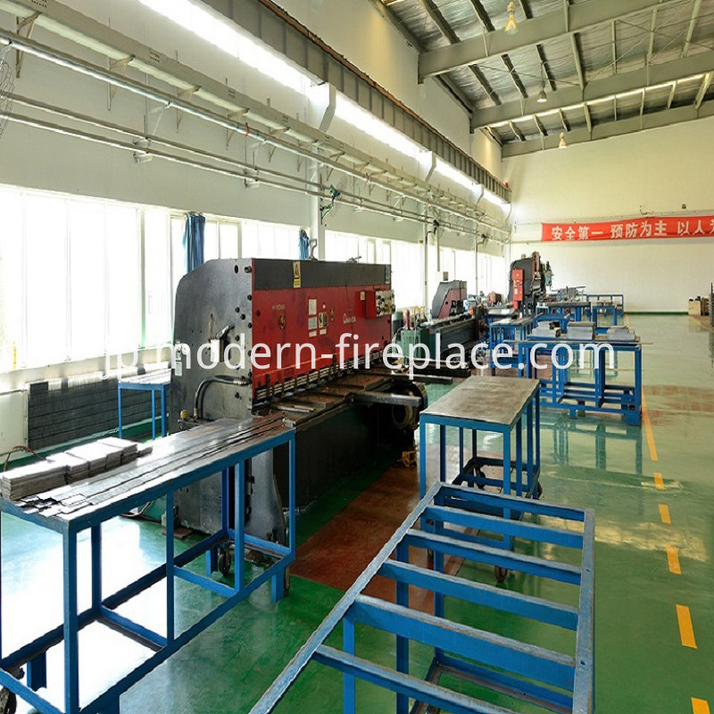 Production of Direct Vent Fireplaces