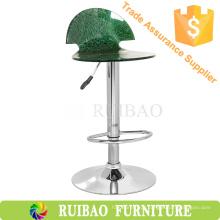 2016 Estilo novo de alta qualidade Claro acrílico fezes de bar cadeira giratória de bar
