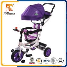 Neues populäres Art-justierbares Überdachungs-Sicherheits-Baby-Dreirad