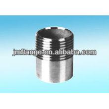 304 BSP резьбовой ниппель из нержавеющей стали