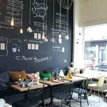 Café Shopping Restaurante Laminado Pizarra