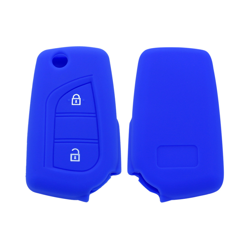 Toyota Rubber 2 Buttons Key Shell