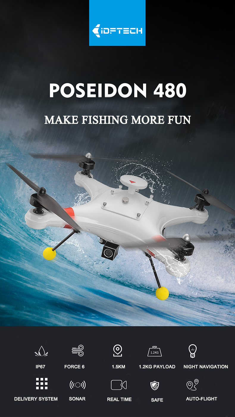 Drone for Sea Fishing