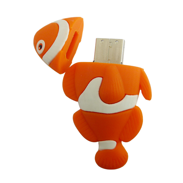Cartoon Fish USB Flash Drive