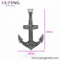 33445 xuping fashion Stainless Steel jewelry Viking Anchor shape cross pendant