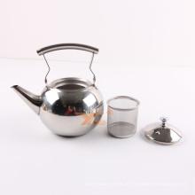 Jarros de aço inoxidável clássicos do potenciômetro do chá de 1.5L por atacado / jarro água do metal