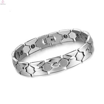 Top vendendo grilo pulseira cadeia de jóias em massa de prata círculo pulseira cadeia